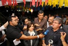 Em Mamanguape, João Azevedo é recebido por prefeita e lideranças na tradicional festa de São Pedro