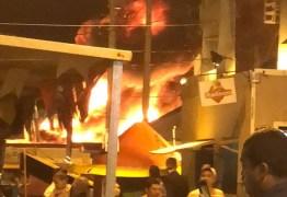 Apesar de incêndio, PMCG afirma que mantém programação da festa neste domingo