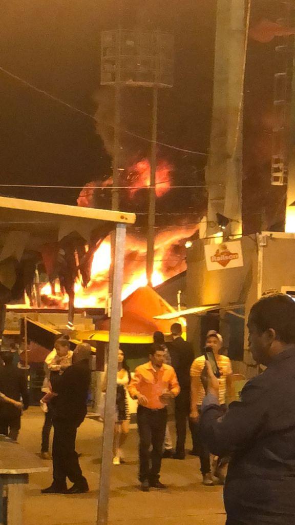 WhatsApp Image 2018 06 30 at 20.08.38 576x1024 - Botijão de gás explode e incêndio atinge barracas no Parque do Povo; VEJA VÍDEOS!