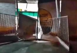 Grupo arromba loja de departamentos na madrugada desta quinta-feira em Lagoa Seca