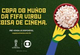 COPA DO MUNDO: Jogos do Brasil serão transmitidos em cinema de João Pessoa