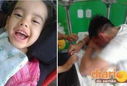 Após chamar atenção da Paraíba, pai é preso e se despede acorrentado da filha morta devido a doença rara