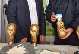 Quadrilha usava troféus falsos da Copa do Mundo para transportar drogas na Argentina