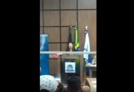 Vereadora se posiciona contra afastamento de Dinaldinho da Prefeitura de Patos; VEJA VÍDEO!