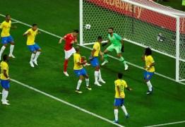 Fifa libera áudio do VAR no gol da Suíça contra o Brasil: 'Contato leve'