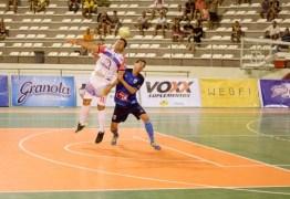 Liga Paraibana de Futsal vai definir os seus finalistas na noite desta terça-feira