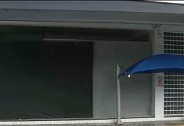 Gangue da marcha à ré arromba loja em Campina Grande