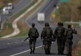 Uso de Forças Armadas nas estradas deve acabar amanhã, diz ministro