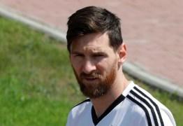 Com Messi abatido, Argentina faz planos para reanimar craque
