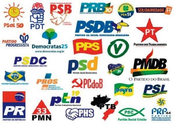 partidos políticos - PT E PSL NO TOPO: saiba quanto cada partido vai receber na divisão dos mais de R$ 2 bilhões do Fundo Eleitoral