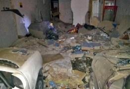 VEJA VÍDEO: Bandidos explodem cofre de posto de gasolina em Campina Grande