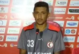 Thiago Potiguar destaca gol como resposta a vaias da torcida do Campinense
