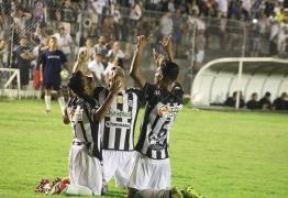 Beleu marca o gol de empate do Treze e fica com a maior nota no jogo contra o URT
