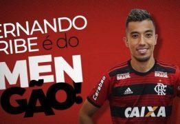 Flamengo anuncia o atacante Fernando Uribe como novo reforço do clube
