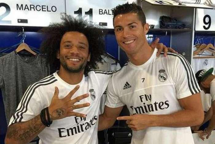 1 cristiano ronaldo marcelo real madrid 1 7326089 - Cristiano Ronaldo pede contratação de Marcelo à Juventus, diz TV italiana