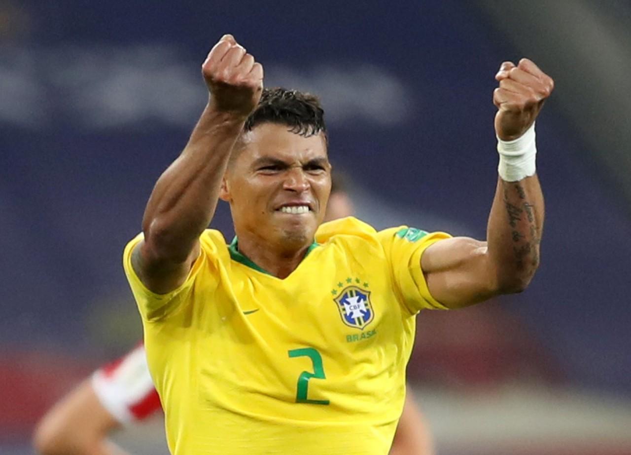60842a956d Thiago Silva será o capitão da Seleção nas oitavas de final