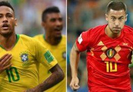 Brasil e Bélgica se enfrentam nas quartas de final da Copa do Mundo nesta sexta-feira