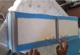 Por falta de caixão, bebê é enterrado dentro de armário de cozinha