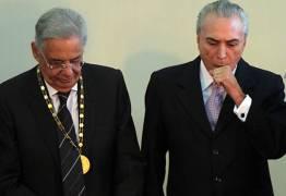 Temer e FHC mostram preocupação com cenário político do Brasil