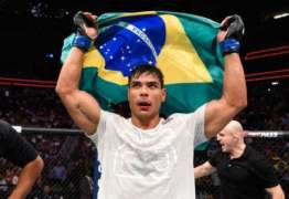Visto como próxima estrela do Brasil pelo presidente do UFC, Paulo Borrachinha quer enfrentar Chris Weidman