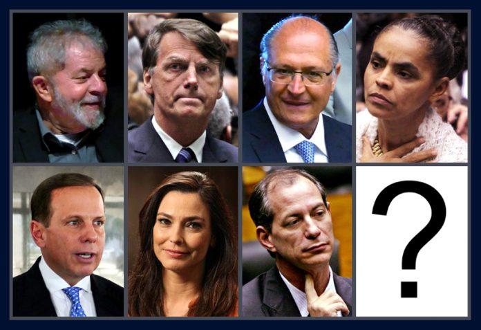 Candidatos 696x477 - Cegos em tiroteio, partidos empurram decisões eleitorais - Por Helena Chagas