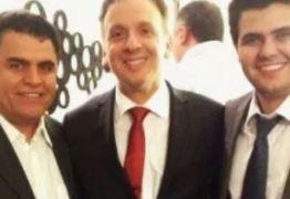 EM BUSCA DE APOIOS: Aguinaldo Ribeiro se encontra com Wilson Santiago em Brasília