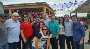 IMG 20180721 WA0352 300x166 - Cotado como vice de João, Efraim aparece em foto com Cássio, Lucélio e Romero