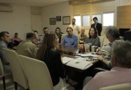 Ricardo Coutinho e Daniella Ribeiro discutem sobre Segurança Pública e não tratam de opção pelo Senado