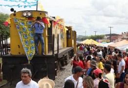 Trem do Forró realizou últimos passeios de Campina Grande à Galante/PB neste fim de semana
