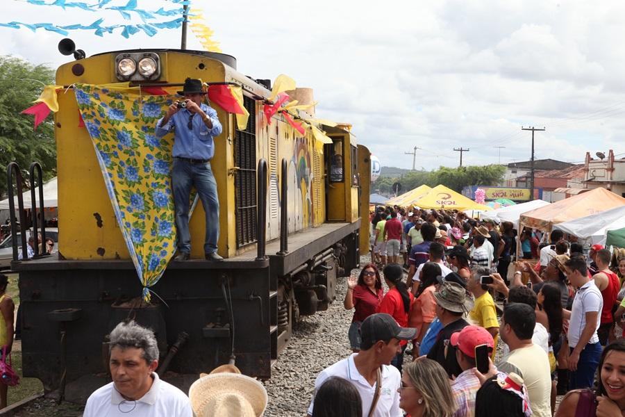 Trem CG Forró - Trem do Forró realizou últimos passeios de Campina Grande à Galante/PB neste fim de semana