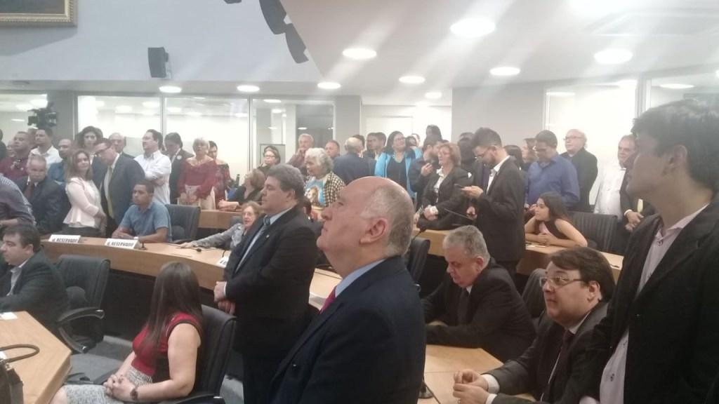 WhatsApp Image 2018 07 05 at 20.02.22 1024x576 - Presidente Gervásio Maia entrega novo plenário da ALPB: 'Sonho realizado' - VEJA VÍDEOS!