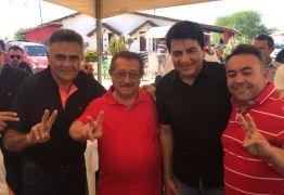 Maranhão e Manoel Júnior participam da festa de aniversário de Márcio Roberto