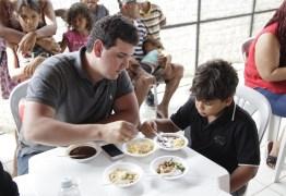 André Amaral participa da Feijoada Maravilha em Campina Grande