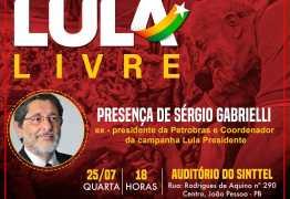 Coordenador geral da campanha de Lula visita a PB e faz reunião com o PT
