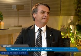 VEJA VÍDEO: Bolsonaro diz na TV que vai participar de todos os debates e reafirma que vai nomear generais no Governo