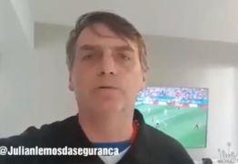 VEJA VÍDEO: Bolsonaro se solidariza com o São João de Campina Grande após Incêndio