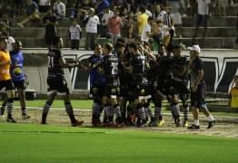 2 a 0: Botafogo-PB vence Santa Cruz e sobe duas posições na série C rumo a classificação
