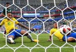 Jogo do Brasil é visto em oito de cada dez televisores