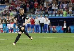 Drama até o último pênalti: Croácia elimina a Rússia após empates no tempo normal e na prorrogação