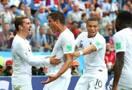 VEJA VÍDEO: Apesar de insetos e frango, França elimina Uruguai e avança para semi-final