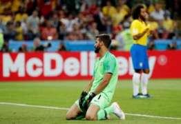 """""""Vontade de Deus"""", diz Alisson sobre derrota do Brasil para Bélgica"""