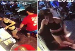 Jovem reage a assédio e leva ao chão homem que apertou seu bumbum – VEJA VÍDEO