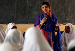EM SÃO PAULO: Malala debate sobre educação e papel das mulheres