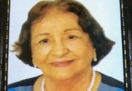 Morre ex-secretária de José Américo e corpo é velado na FCJA