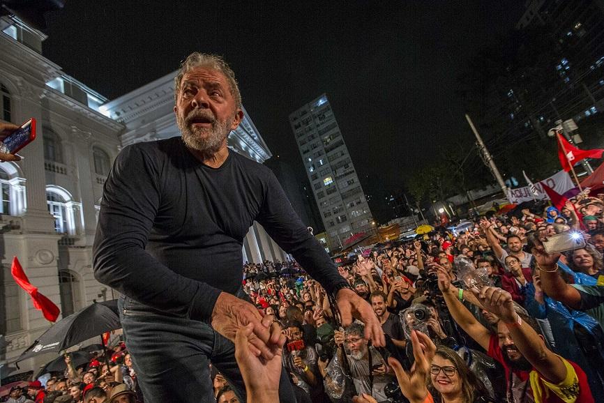 lula no povo - PT convoca greve de fome em defesa da candidatura de Lula