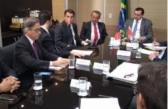 maranhão reunião - Maranhão consegue recursos para conclusão do 3º eixo da transposição
