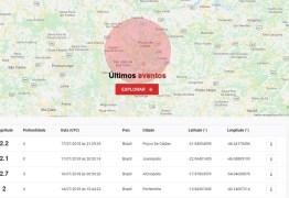 Tremor de terra de magnitude 2,2 é registrado em Minas Gerais