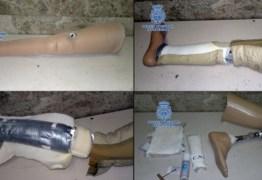 PCC recruta pessoas com próteses para colocar celular em presídios –