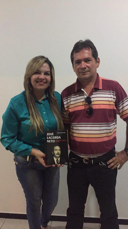 raíssa lacerda marconi livro josé lacerda biografia - BIOGRAFIA: Livro conta como José Lacerda manteve o mandato durante a ditadura militar enquanto Maranhão e Ronaldo foram cassados - Veja Vídeo
