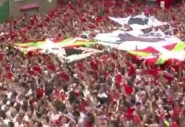 VEJA VÍDEOS: Movimento por Lula ou festa na Espanha? Fakenews transformou corrida de touros em Festival Lula Livre